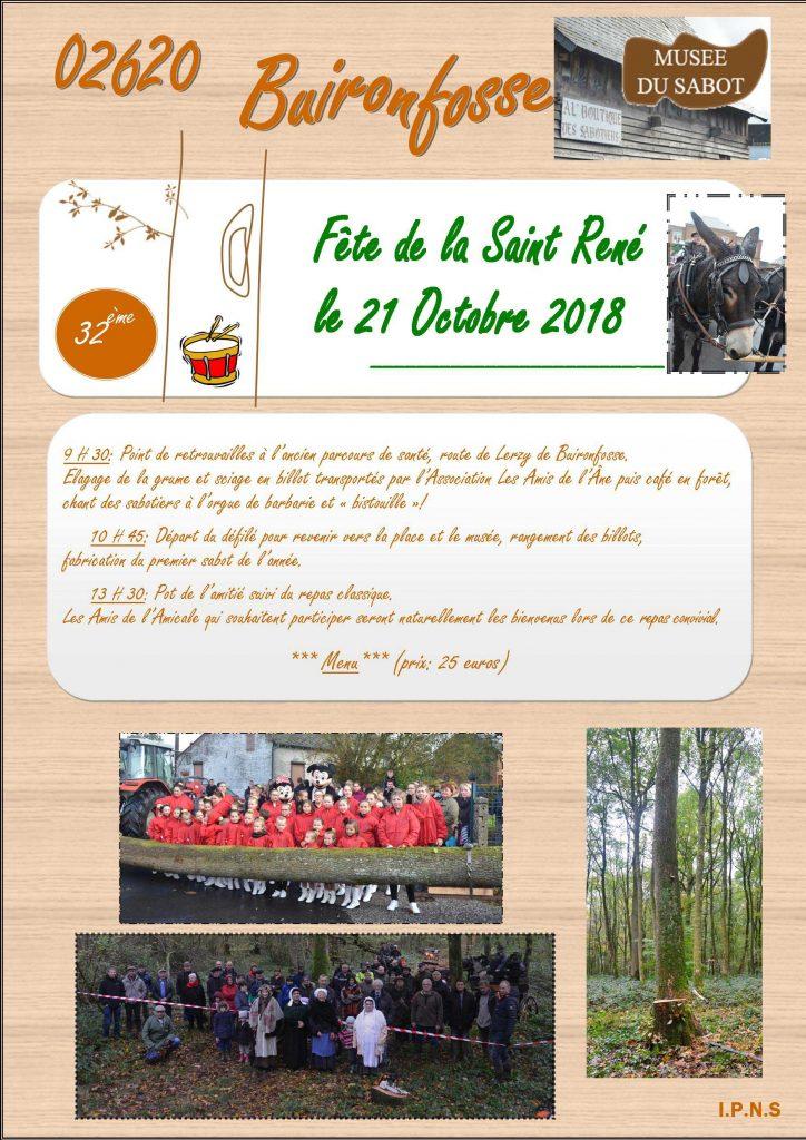 Fête de la Saint-René – Buironfosse